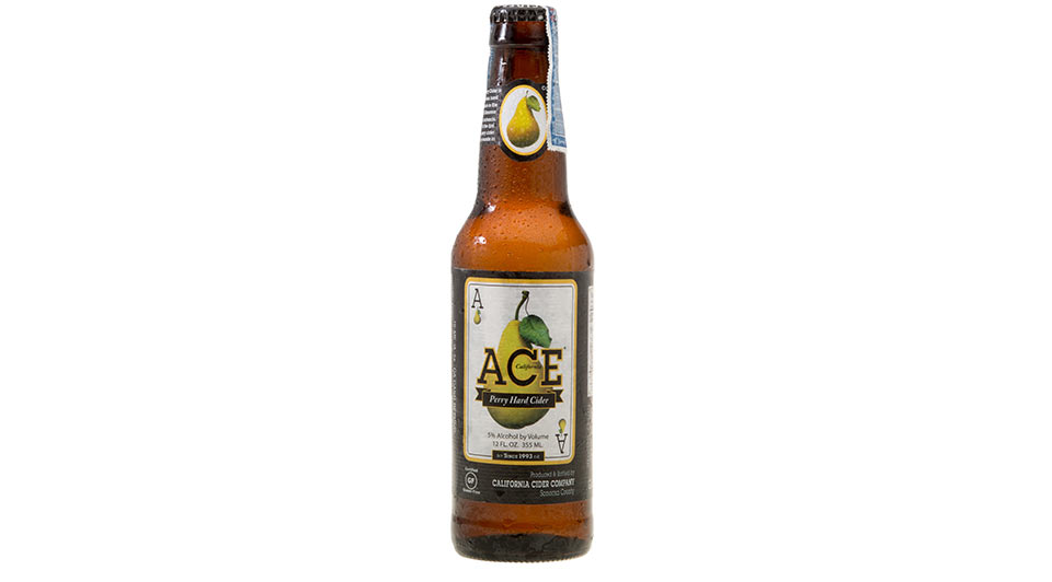 5% ABV - Ace Pear is made from a base of 100% pure, local apple juice. Pear essence is added to give the cider its distinctive pear taste.