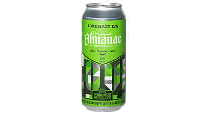 6.1% ABV - LOVE is double dry-hopped and super dank.
