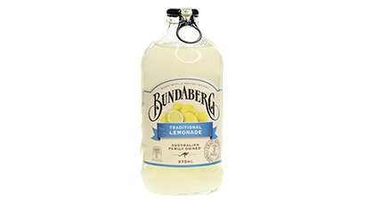 Non-alcoholic! If you like old-school lemonade, this is the brew for you. Bundaberg Traditional Lemonade is a refreshing, full-bodied brew that delivers the ultimate quench for your thirst. Made with real Australian Eureka lemons, it's brewed for 3 days to extract maximum, zesty flavour.