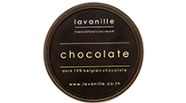La Vanille chocolate ice cream using 70% Single Origin Ghana Chocolate from deZaan.