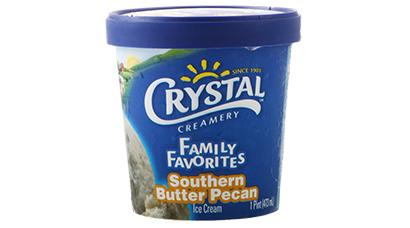 Premium California ice cream. 1 Pint.