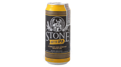 4.5% ABV - Aroma is standard Stone IPA scent of heavy hops, citrus, and pine. The light color and scents show through fully in the taste with a real nice hop flavor and absolute bare minimal malt.