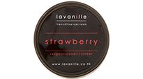 La Vanille strawberry sorbet made with real senga strawberries.